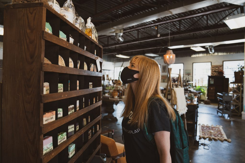 brick-and-mortar business owner implement new safety guidelines